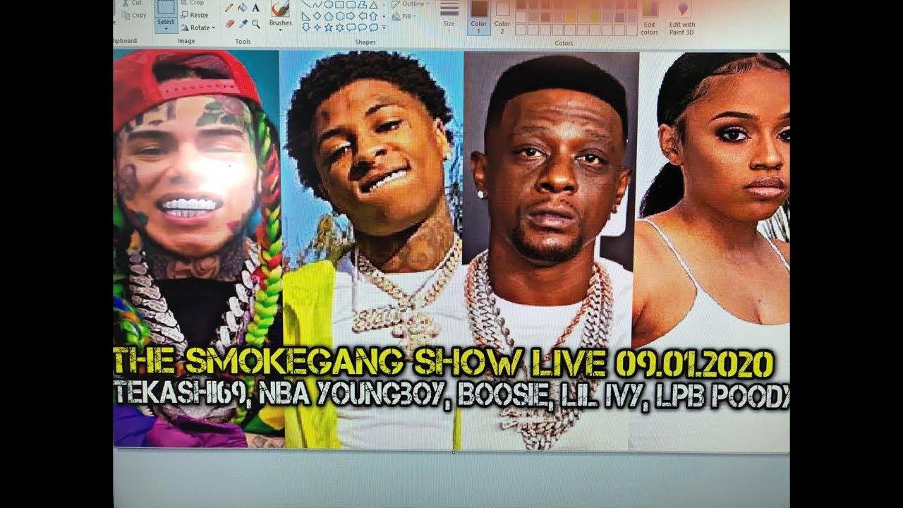 The SmokeGang Show Live 09.01.2020: Tekashi69, NBA Youngboy, Boosie, Lil Ivy, LPB Poody, Bossman