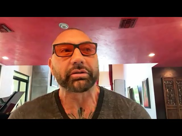 The Talk – Dave Bautista On New 'Gentleman Hooligan' Tattoo, Says 'it sums me up'