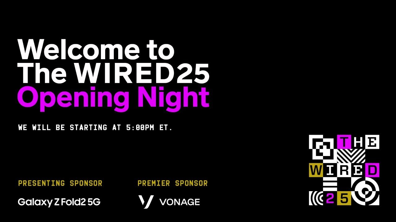 The WIRED25: Opening Night - Brie Larson, Reed Hastings, Nia DaCosta, Van Jones, and More