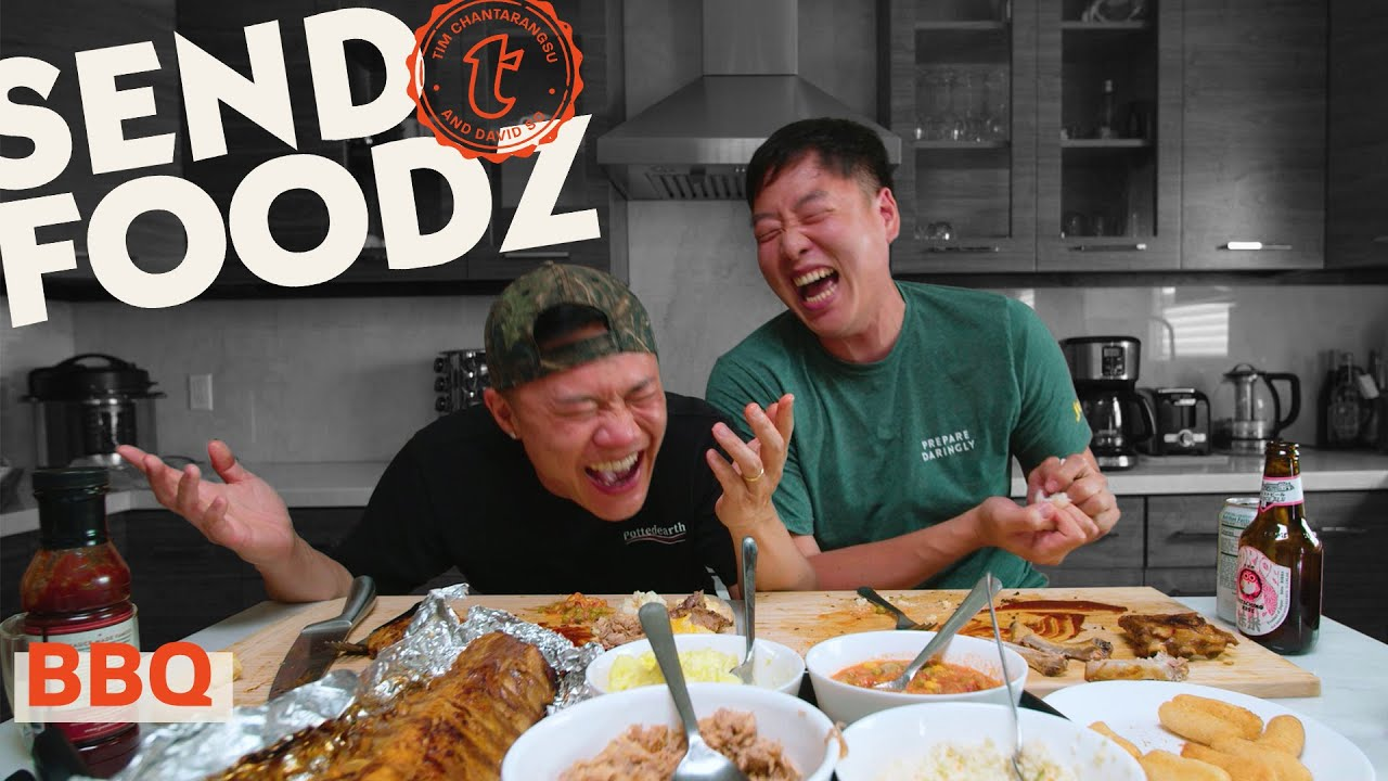 Tim and David Try the Best Barbecue From Around the Country | Send Foodz