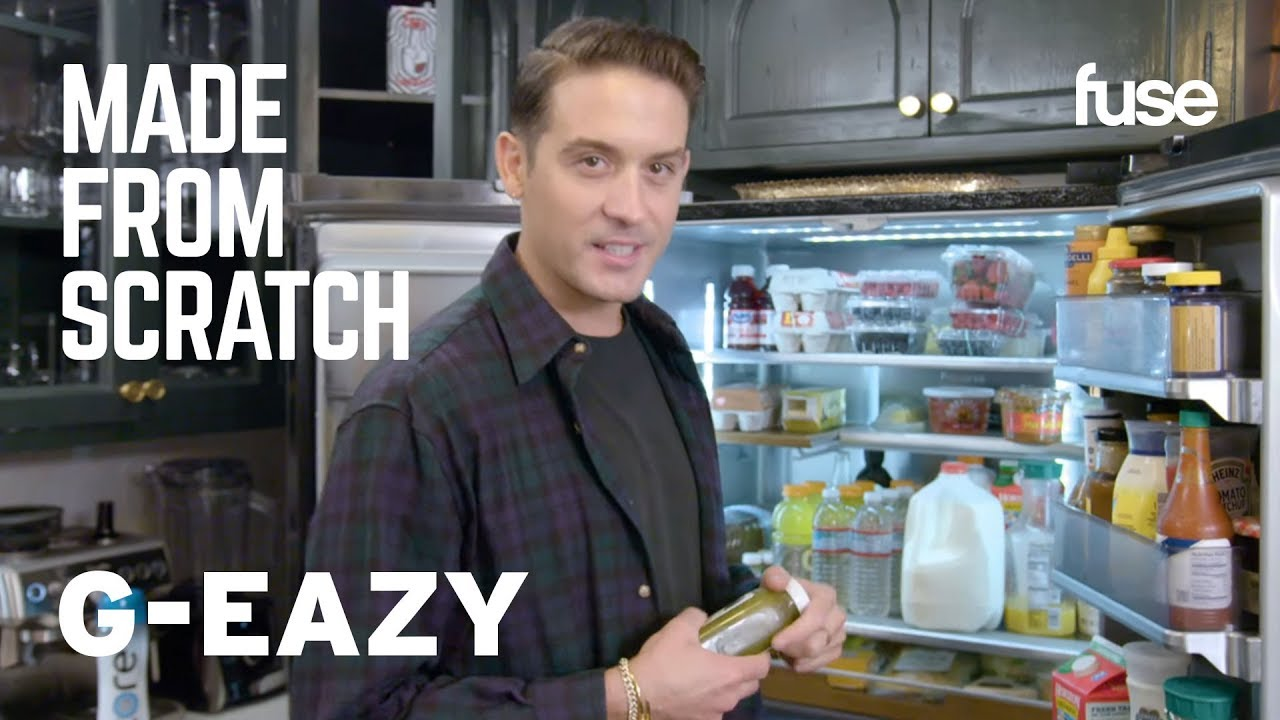 What's In G-Eazy's Fridge? | Made from Scratch | Fuse