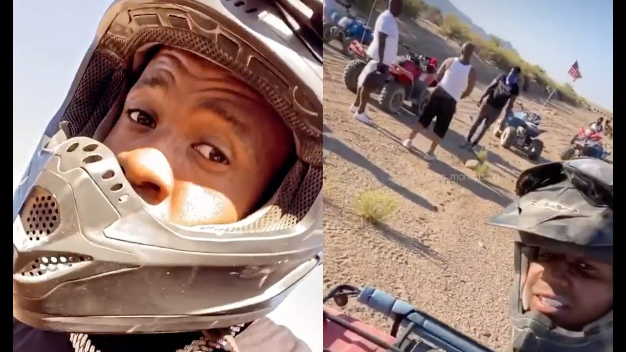Yo Gotti Flips His 4 Wheeler After Gets Lost In The Vegas Dessert