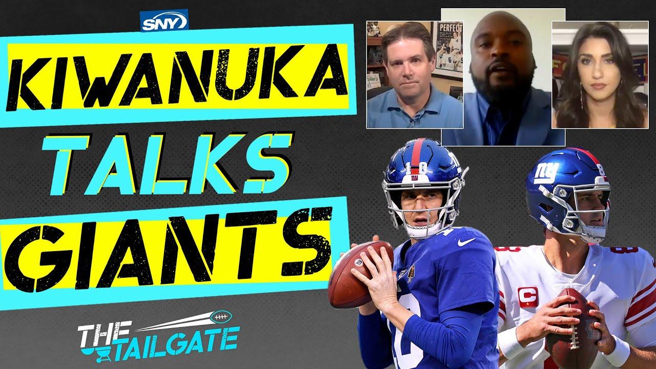2-time Super Bowl champion Mathias Kiwanuka on Eli Manning and Saquon Barkley | The Tailgate | SNY