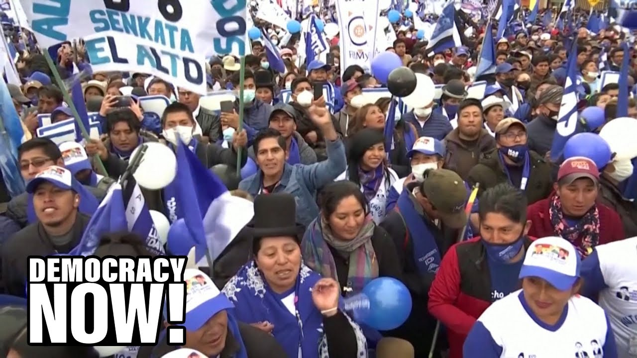"""""""A Blow Against Neoliberalism"""": Socialist Wins Bolivia Election a Year After Coup Ousted Evo Morales"""