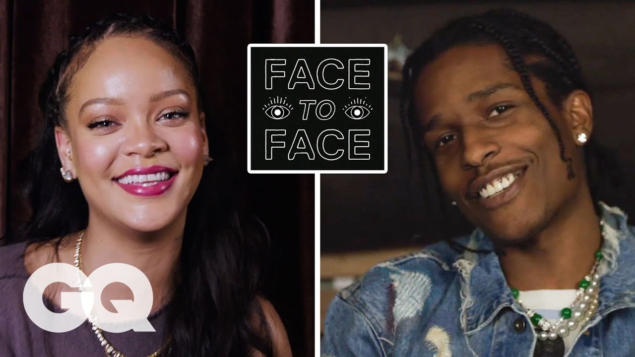 A$AP Rocky Answers 18 Questions From Rihanna   GQ