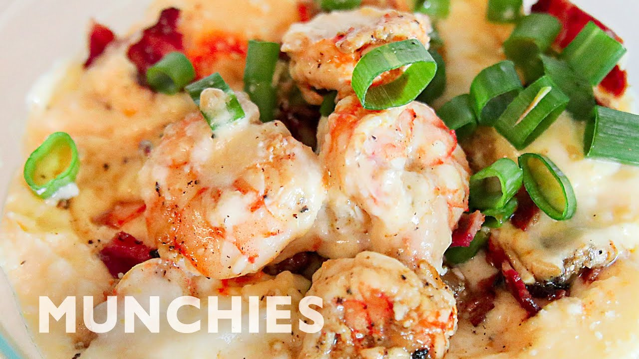 Amateur Cook Tries To Make Shrimp & Grits