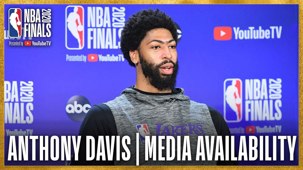 Anthony Davis #NBAFinals Media Availabilty | September 29, 2020