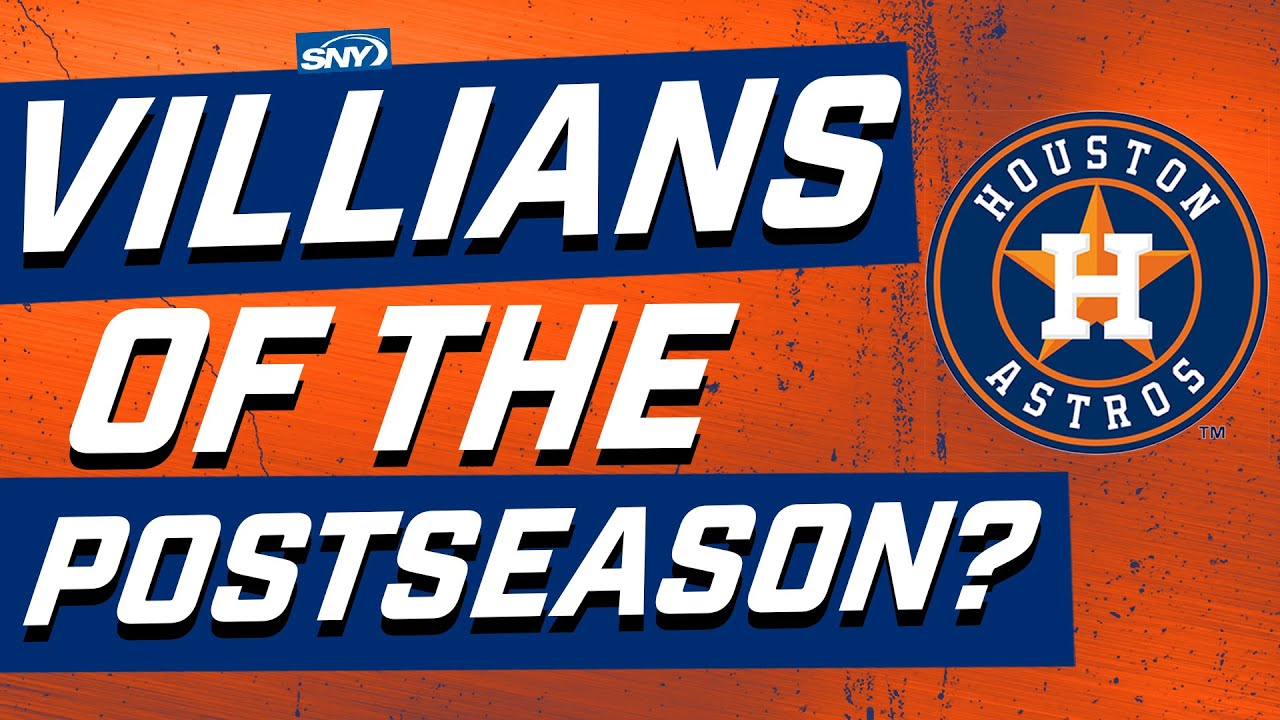 Are the Astros the villains of the MLB postseason? | Baseball Night in New York | SNY