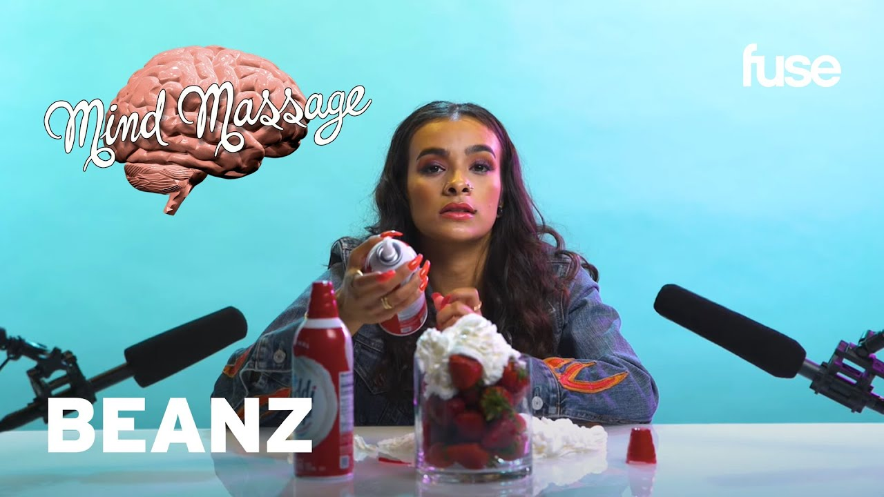 Beanz Does ASMR with Whipped Cream, Talks Poetry, 'Rhythm & Flow' & Female Rap | Mind Massage | Fuse