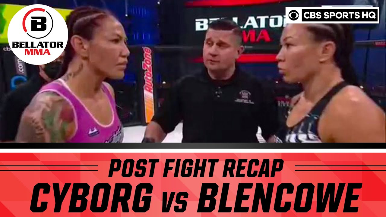 Bellator 249 Highlights | Cyborg DOMINATES Blencowe to retain featherweight title | CBS Sports HQ