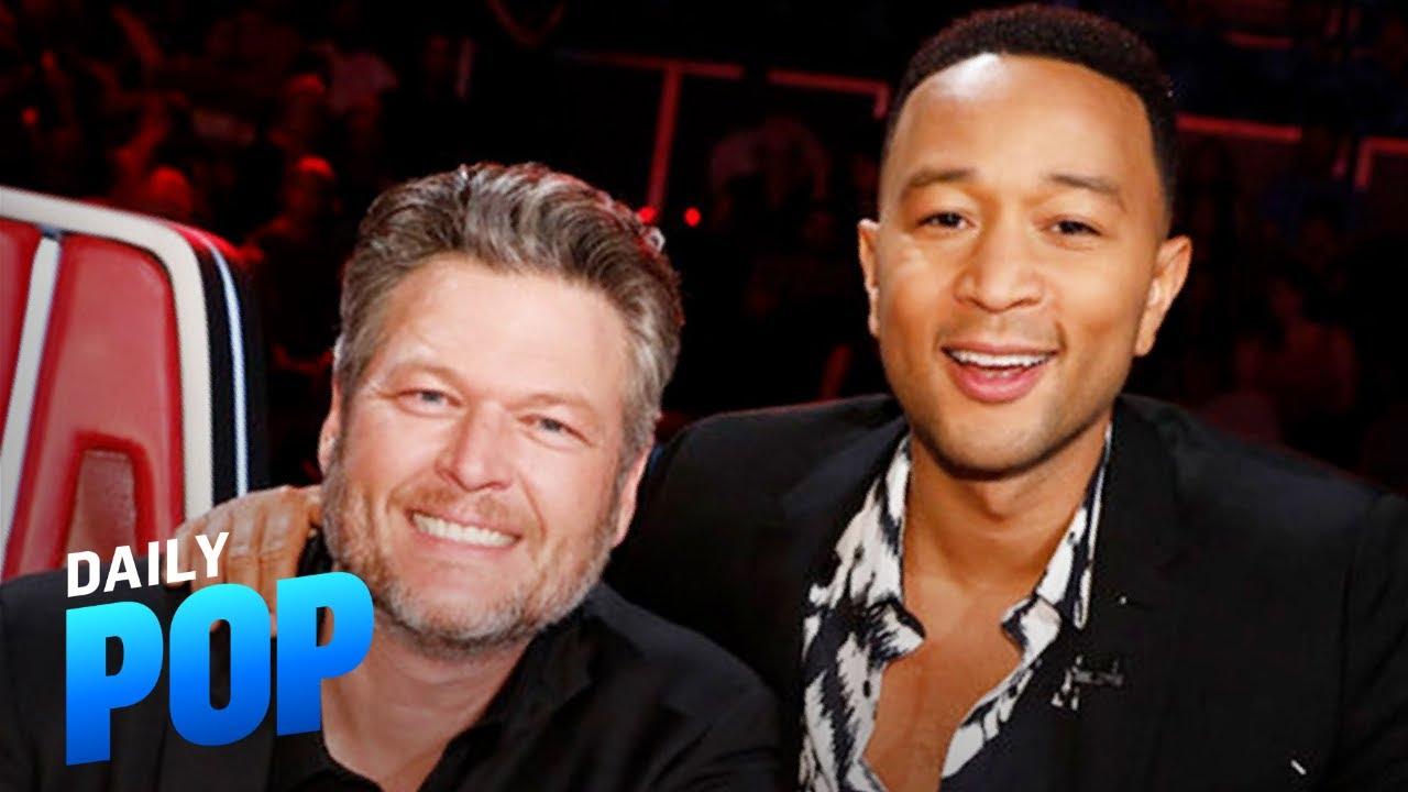 "Blake Shelton & John Legend Tease New Season of ""The Voice""   Daily Pop   E! News"