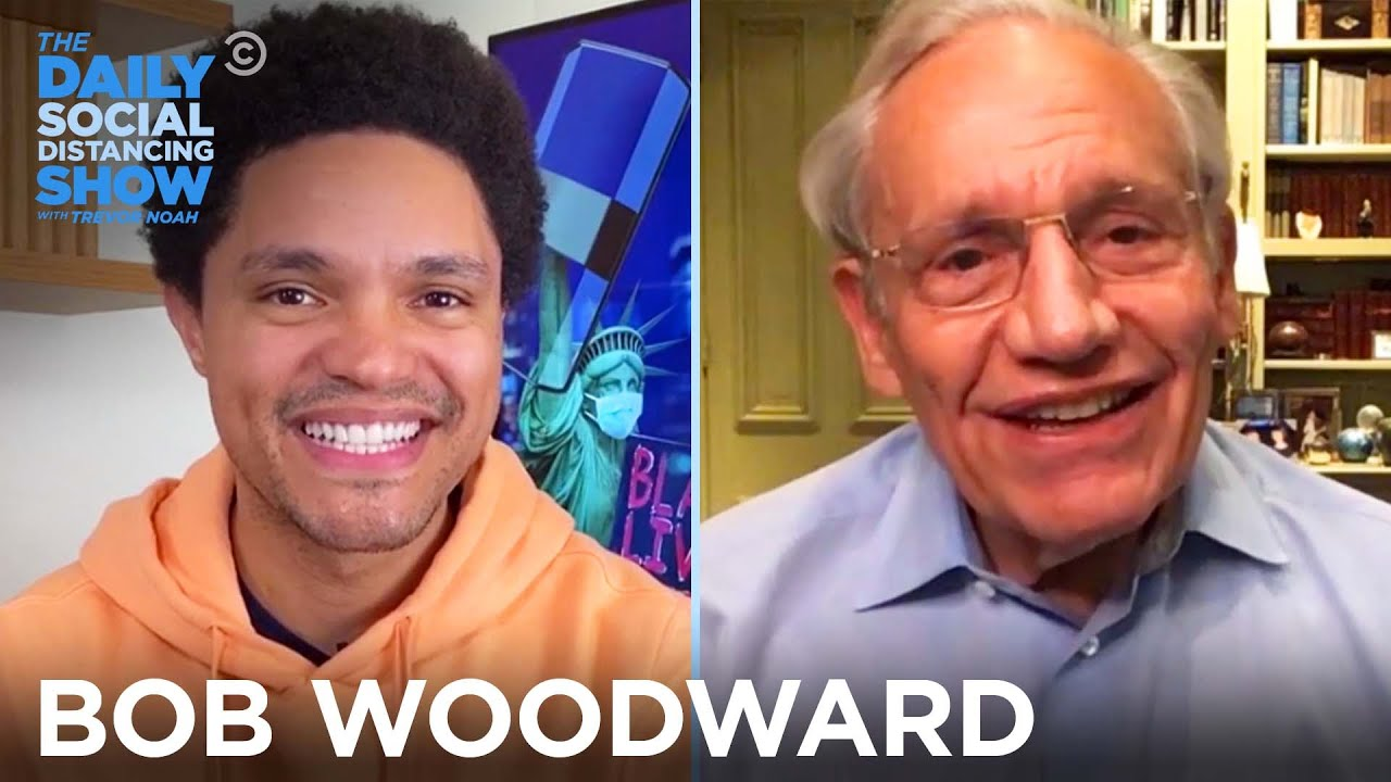 Bob Woodward – Why He Kept Trump's Coronavirus Comments Secret | The Daily Social Distancing Show