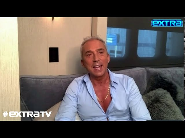 Bruno Tonioli Talks His Silver Fox Transformation