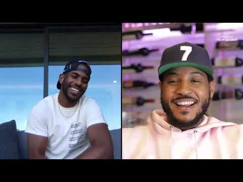 Chris Paul | What's In Your Glass? | Carmelo Anthony