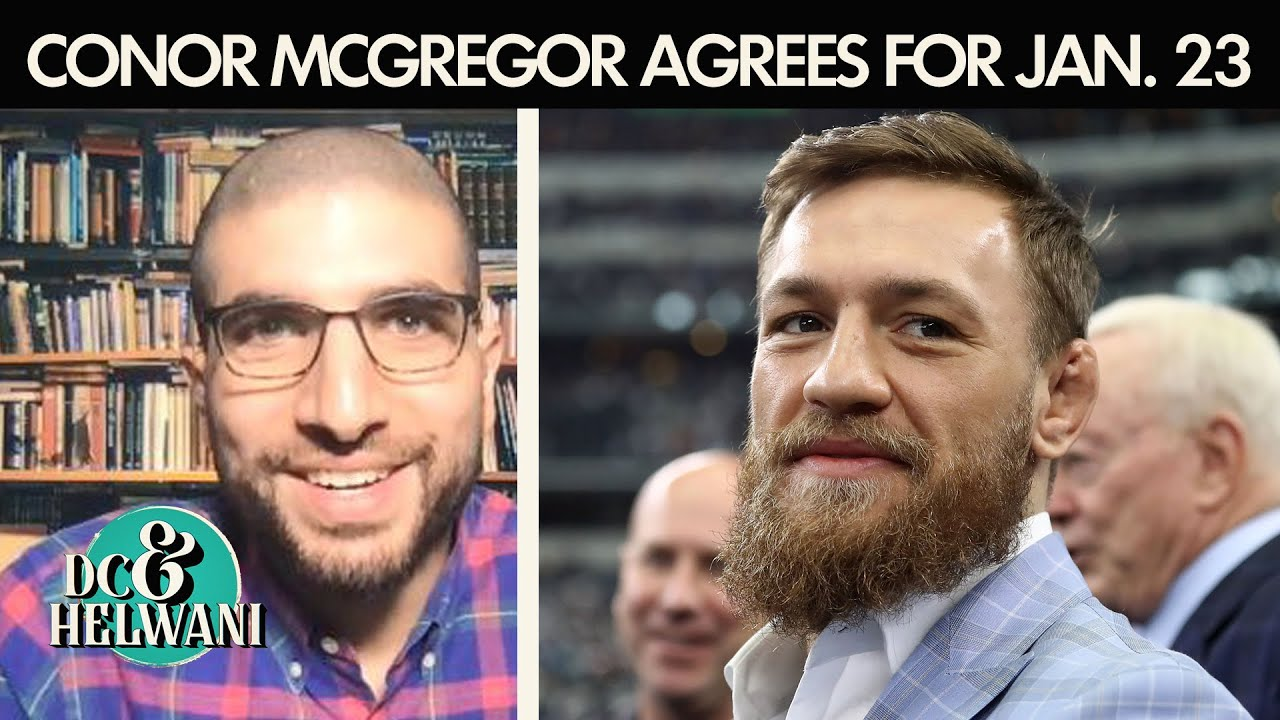 DC & Helwani talk Conor McGregor wanting UFC fight at Cowboys Stadium | ESPN MMA