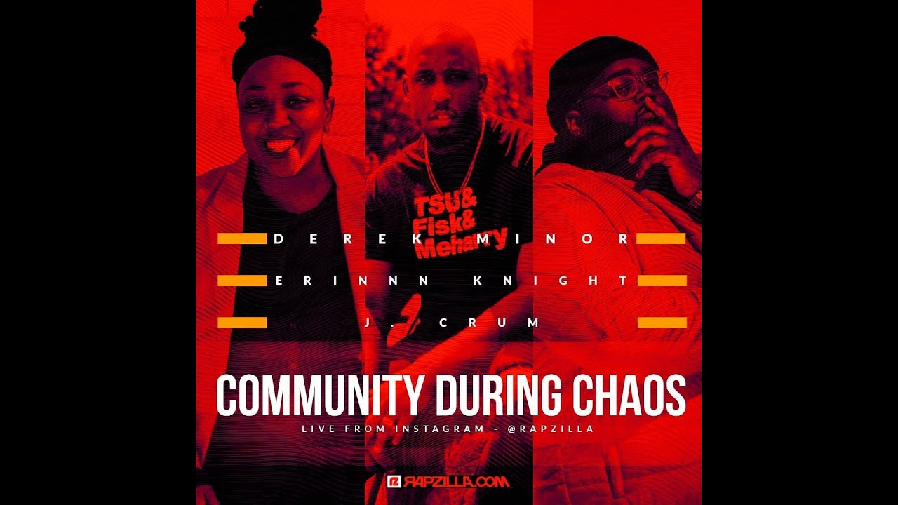 Derek Minor Drops History Lesson, J. Crum on at Risk Youth, & Erinn Knight Empowers Black Community