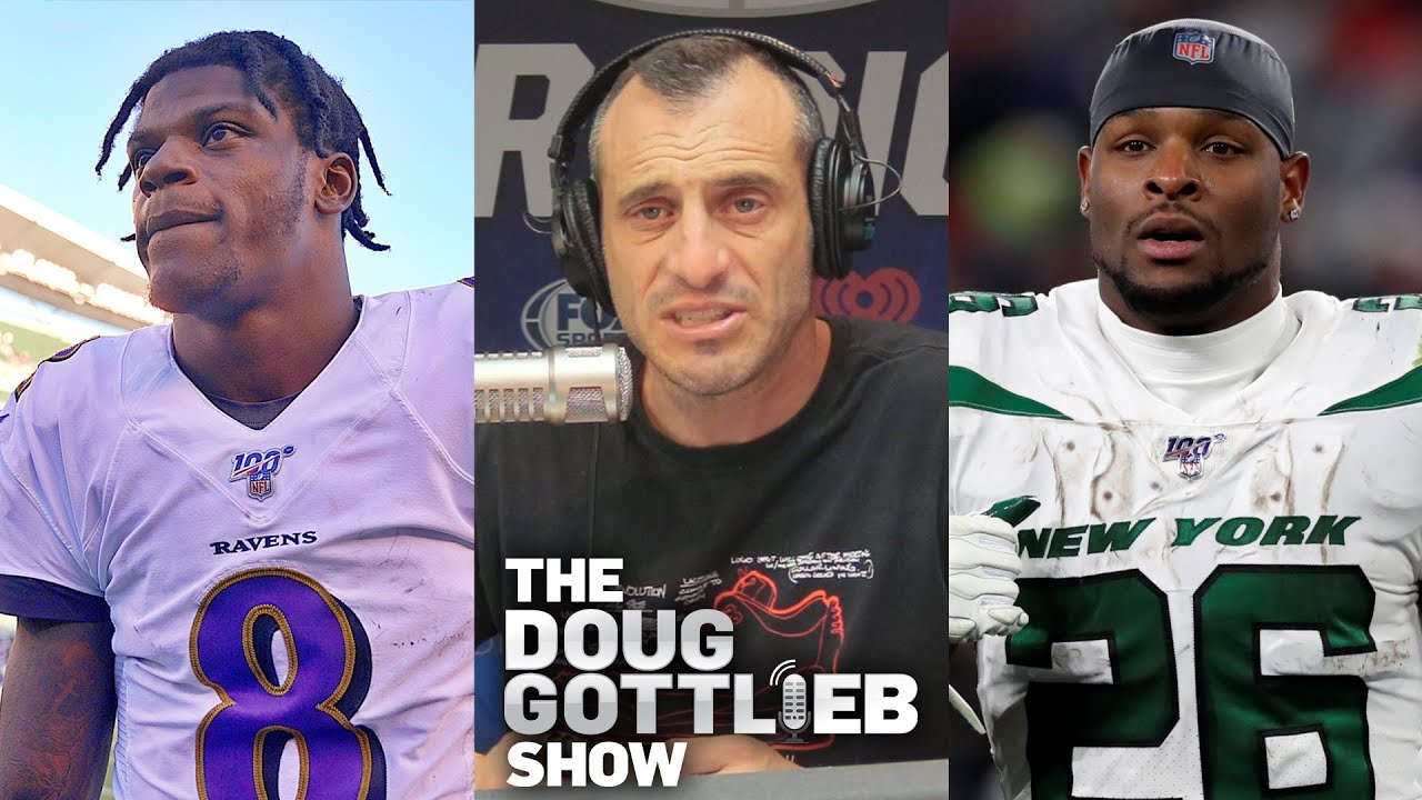Doug Gottlieb – Teams Are Adjusting to Lamar Jackson and Le'Veon Bell Isn't Good Anymore