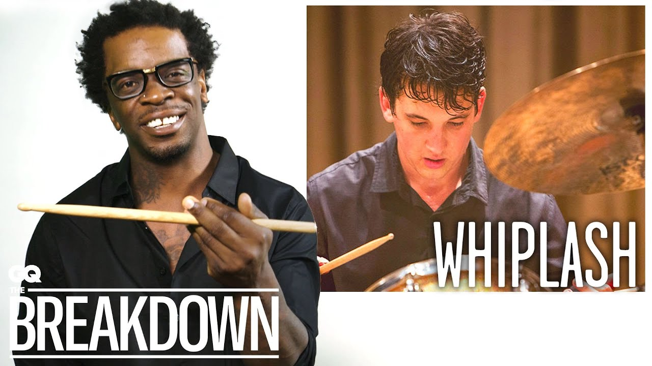 Drummer Thomas Pridgen Breaks Down Drumming Scenes from Movies | GQ