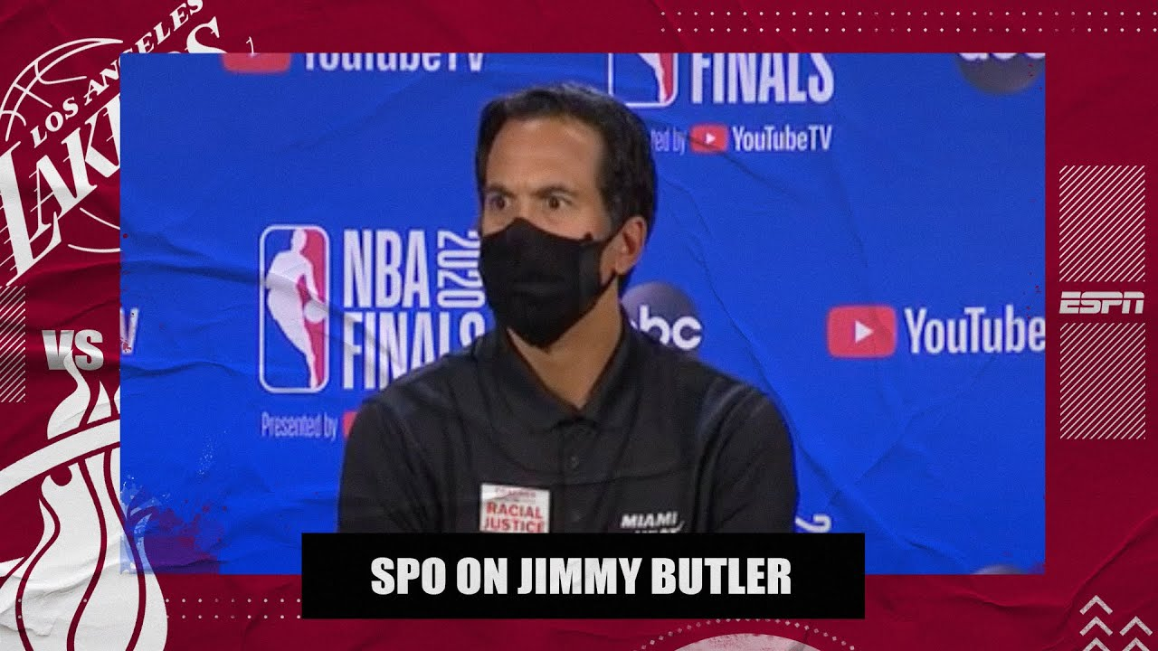 Erik Spoelstra on Game 3 win: 'How else do you say it other than Jimmy Butler' | 2020 NBA Finals