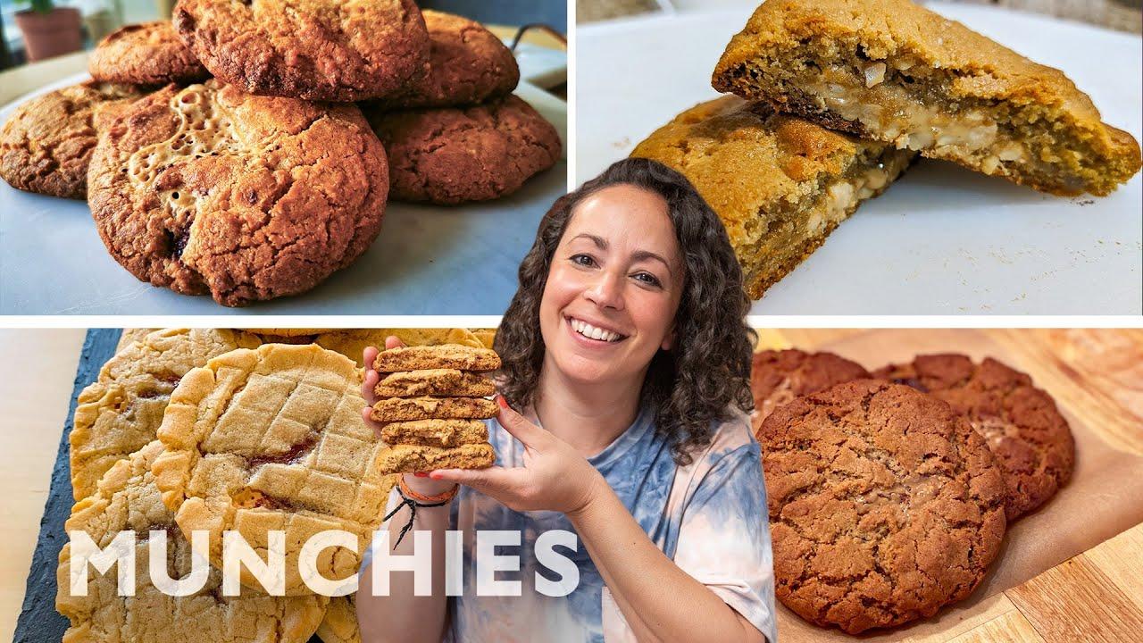 Farideh Judges MUNCHIES Viewers' PB&J Cookies