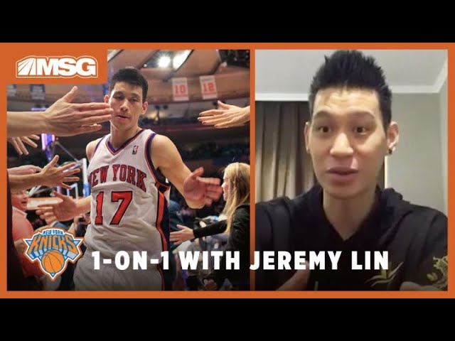How Tough It Was For Jeremy Lin To Leave Knicks & New York | Part 3 of Mike Breen's Chat With Lin