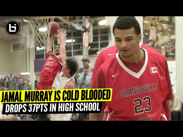 Jamal Murray vs STACKED Texas Team In High School SNAPS For 37PTS! High School Was Too Easy For Him!