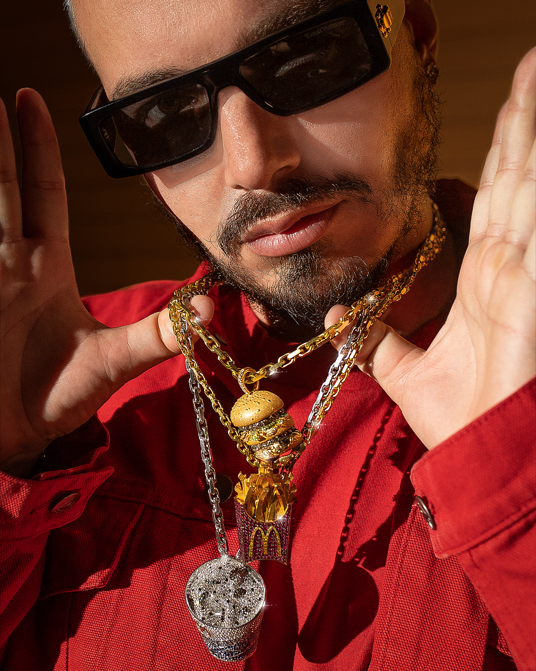 McDonald's and J Balvin Collab on Custom Jewelry
