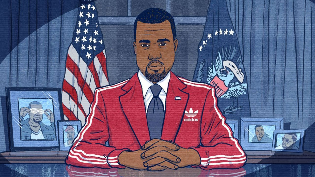 Kanye West announces he's running for President of the United States this YEAR!