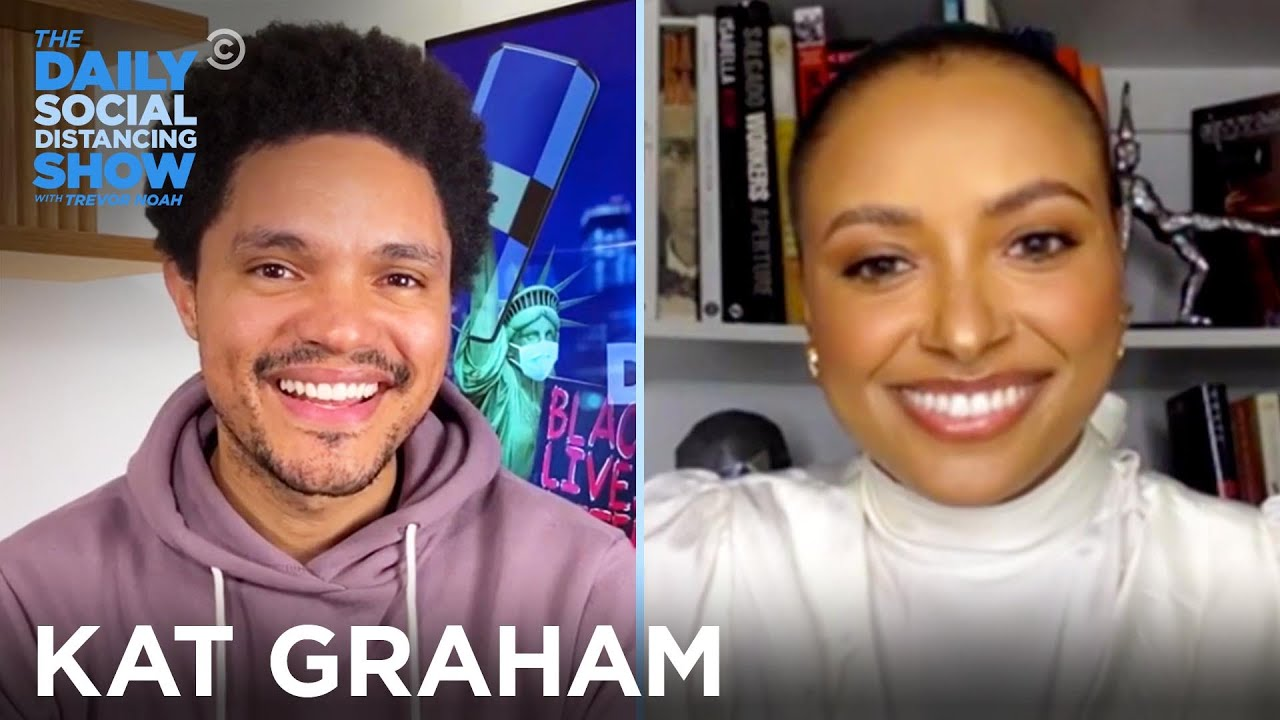 Kat Graham  – Uplifting Black Women & Destigmatizing Refugees | The Daily Social Distancing Show
