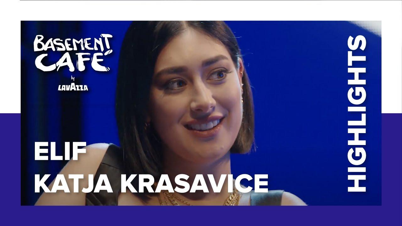 Katja Krasavice und Elif: Schlechte Ex-Manager und Vertrauen in die Musikindustrie | Basement Café