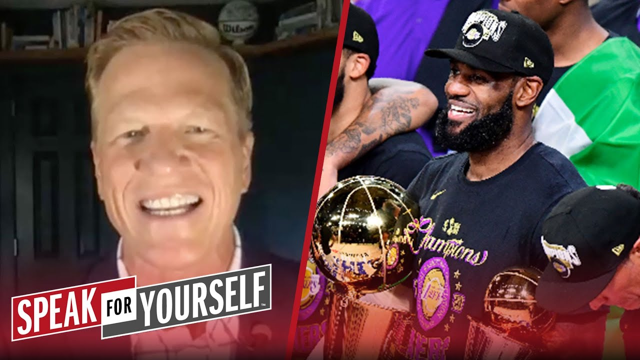 LeBron winning 6 Titles before retirement isn't realistic — Ric Bucher | NBA | SPEAK FOR YOURSELF