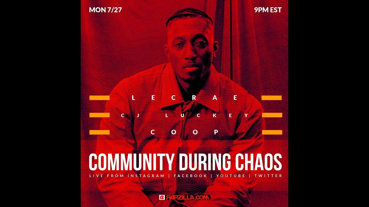 Lecrae Explains 'White Blessings' Incident, Coop on COVID Through High School, & CJ Luckey Out Reach
