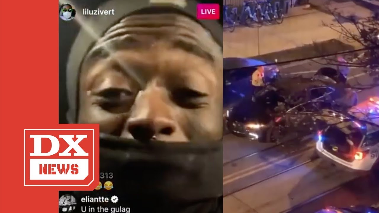 Lil Uzi Vert Detained By Police For Allegedly Firing Paintball Guns At Parked Cars