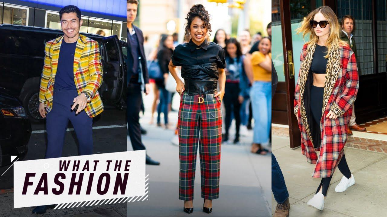 Liza Koshy Is Driving Us Plaid! | What the Fashion | S2, Ep. 35 | E! News