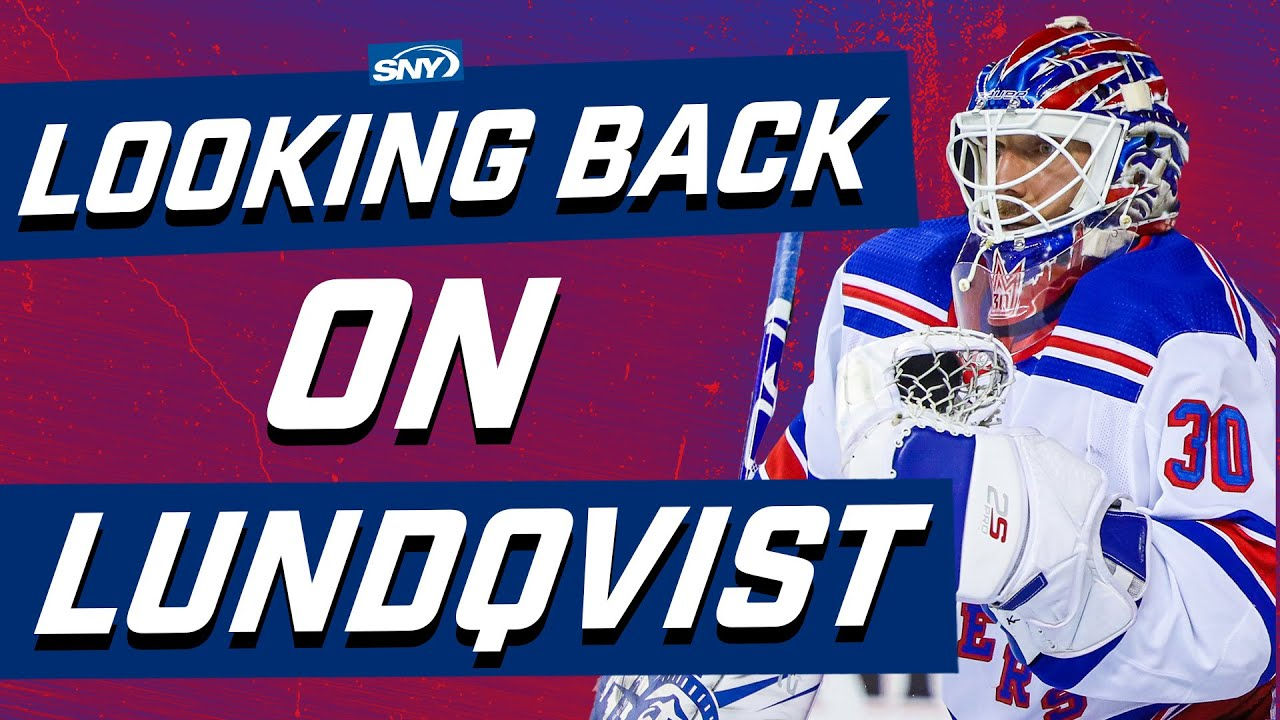 Looking back at Henrik Lundqvist's career as a New York Ranger | New York Rangers | SNY