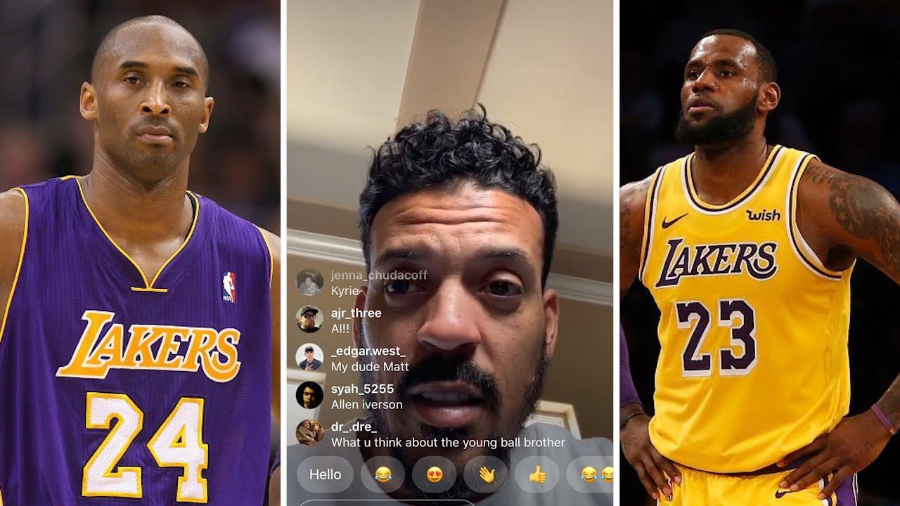 Matt Barnes On Kobe, LeBron vs Durant, Melo vs Pierce, Iverson vs Kyrie &  MORE ELITE Comparisons