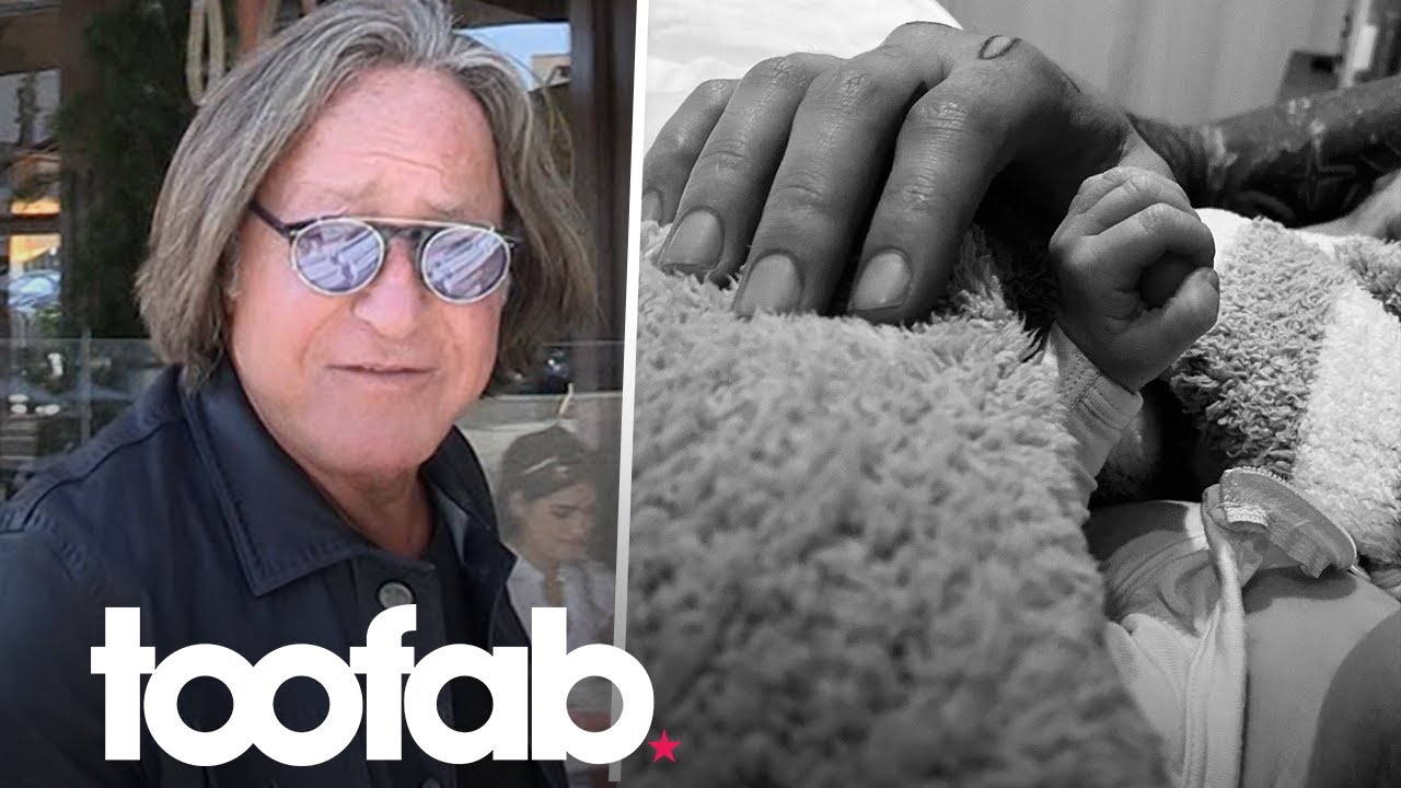 Mohamed Hadid Reacts to News He Is A Grandad | toofab