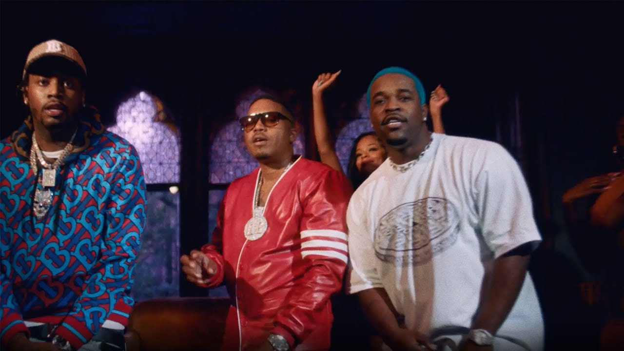 """Nas – """"Spicy"""" feat. Fivio Foreign & A$AP Ferg (Official Video)"""