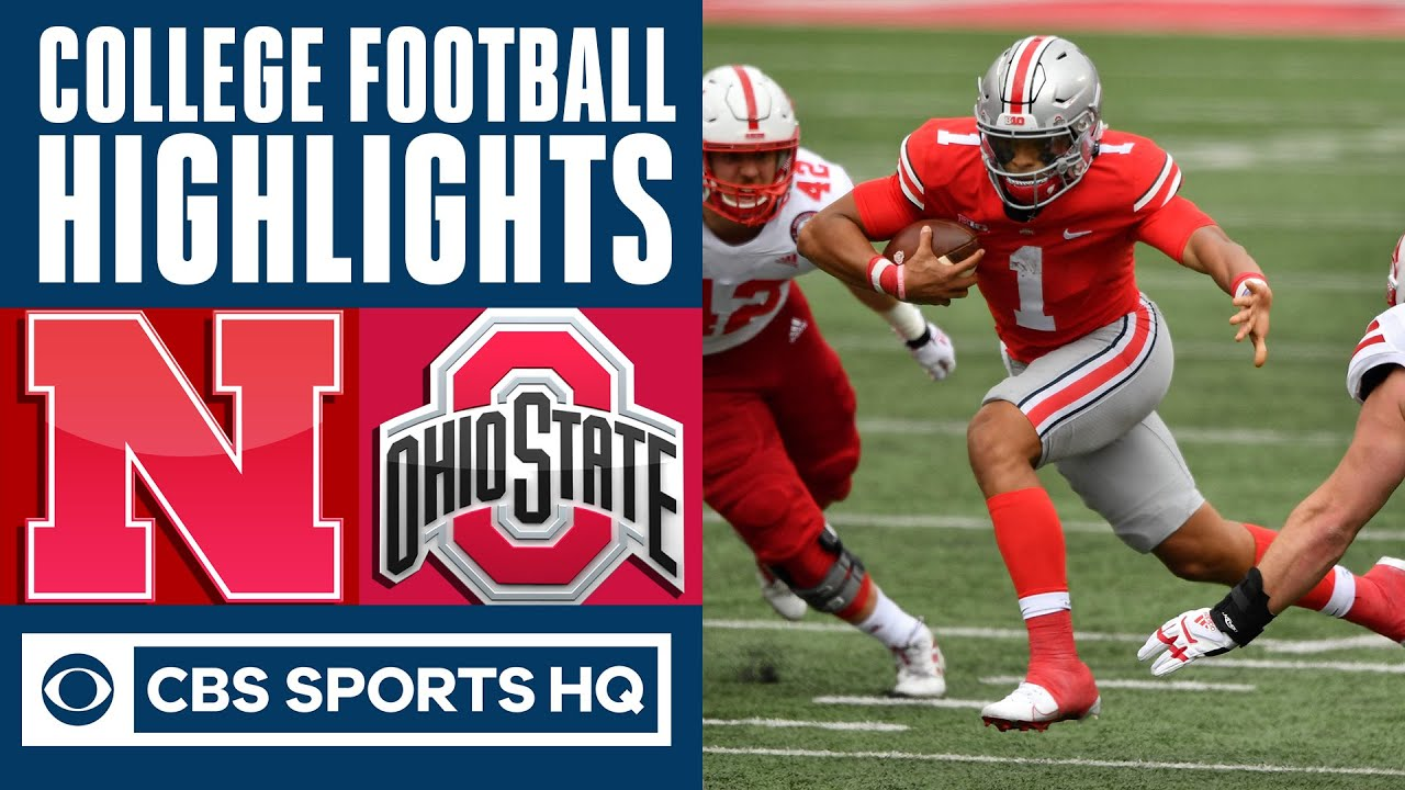 Nebraska vs #5 Ohio State Highlights: Buckeyes open season by dominating Cornhuskers | CBS Sports HQ
