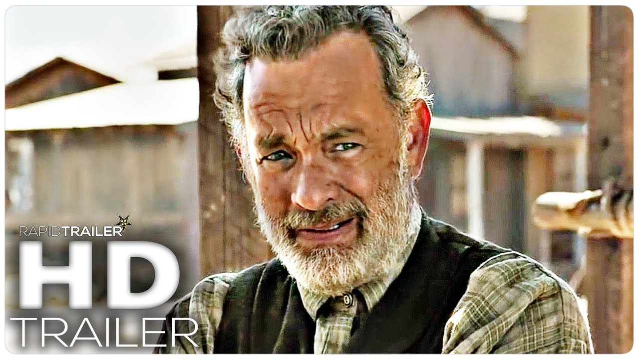 NEWS OF THE WORLD Official Trailer (2020) Tom Hanks Movie HD