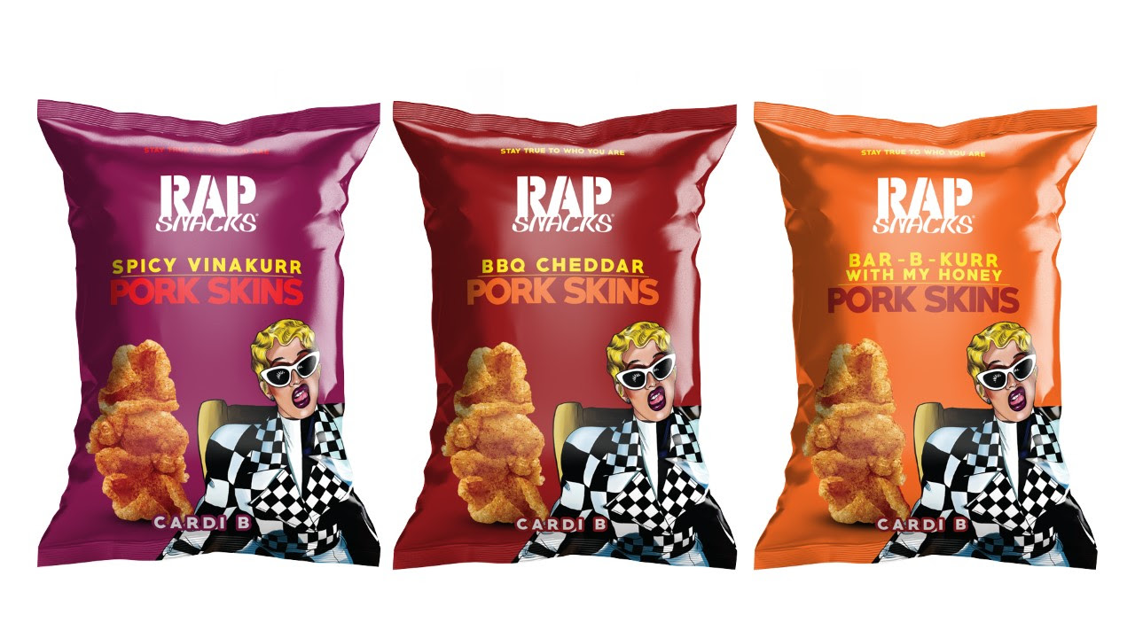 "CARDI B RAP SNACKS PRODUCT LAUNCH KICKS OFF RAP SNACKS VOTING REGISTRATION INITIATIVE ""RAP SNACKS VOTE"""