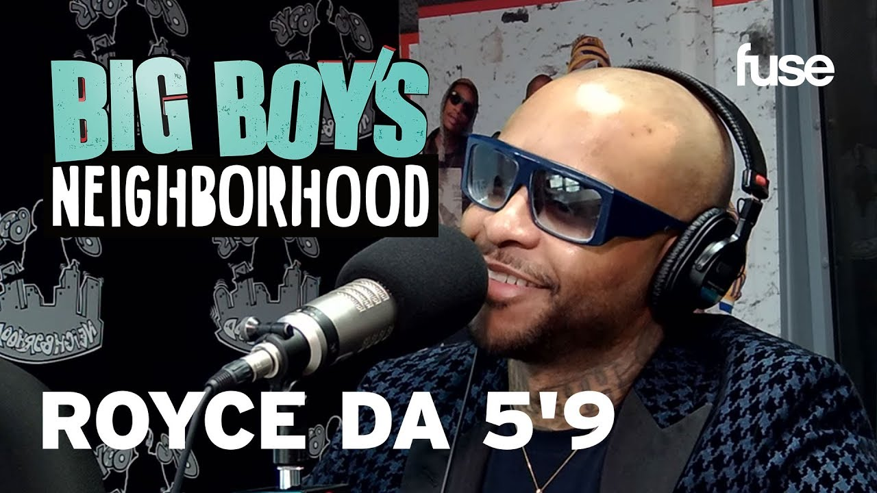 "Royce Da 5'9 Claims Eminem Is ""Superstitious"" | Big Boy x Fuse"