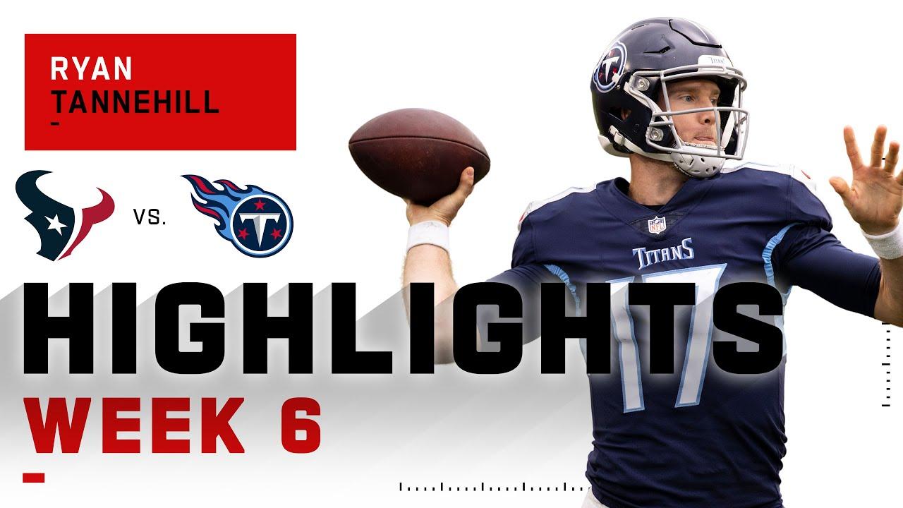 Ryan Tannehill Picks Apart Texans w/ 4 TDs | NFL 2020 Highlights