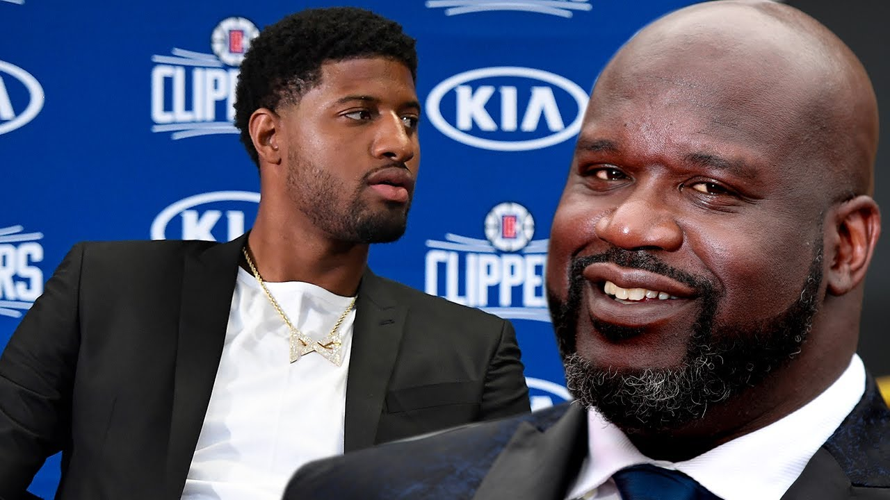 Shaq Says Clippers Need To Trade Paul George Because He Thinks He's The Man, When It's Really Kawhi
