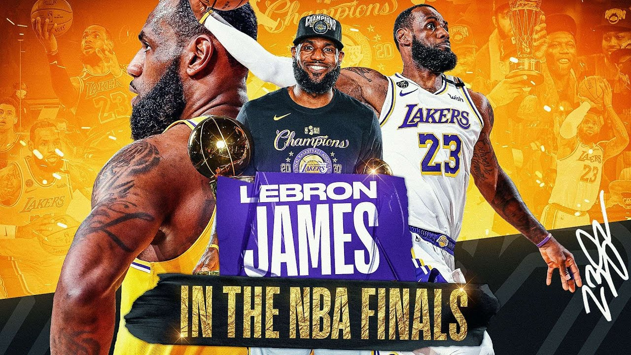 The BEST Of LeBron's 10 NBA Finals Appearances 👑
