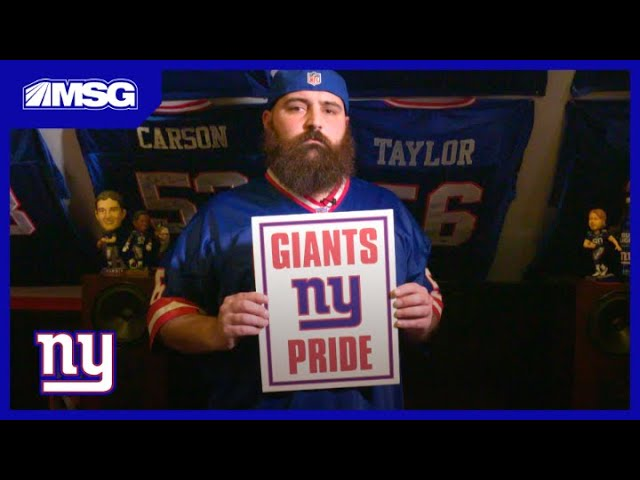 The Most INSANE Giants Fan Cave We've Ever Seen | New York Giants