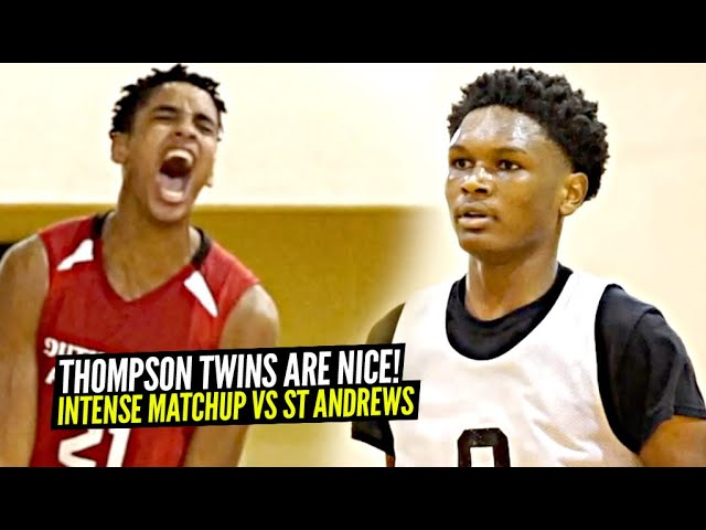 These TWINS Are About To TAKE OVER This Season! Amen & Ausar Thompson vs St Andrews!