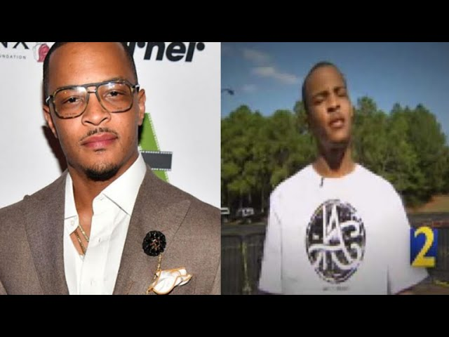 TI Defends himself after people pull up a old Crimestoppers video calling him a SNITCH.