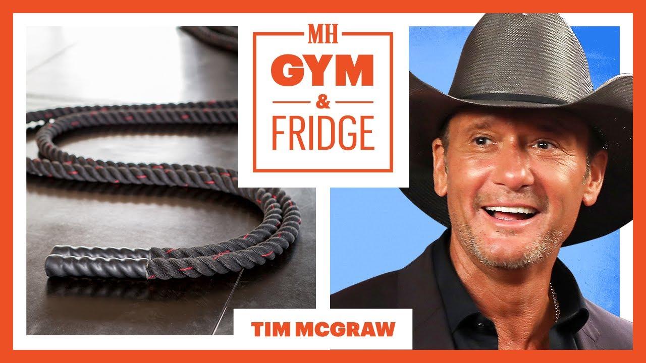 Tim McGraw Shows His Nashville Gym & Fridge | Gym & Fridge | Men's Health