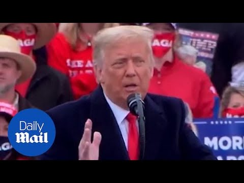 Trump questions whether AOC went to college at Pennsylvania rally